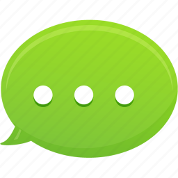chat, communication, message, text icon