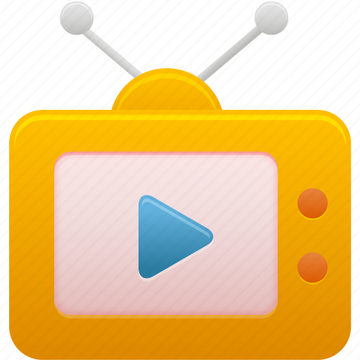 movie, multimedia, television, tv, video icon