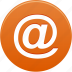 @, e-mail, email, message icon