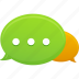 chat, communication, message, talk icon