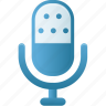 audio, microphone, music, sound, speaker icon