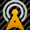 signal, tower, wifi, wireless icon