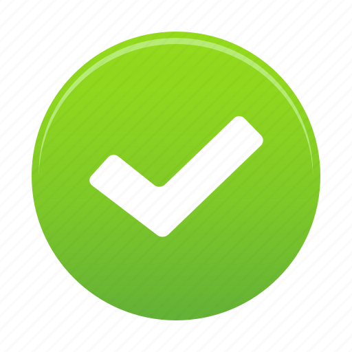 accept, approve, check, done, ok, success, yes icon