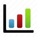 analytics, bar, chart, data, graph, report, statistics icon
