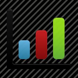 analytics, bar, chart, data, graph, report, statistics icon