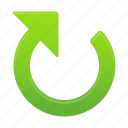 arrow, arrows, clockwise, direction icon