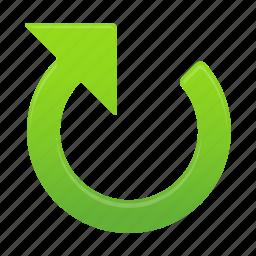 arrow, arrows, clockwise, direction icon
