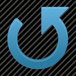 arrow, arrows, counterclockwise icon