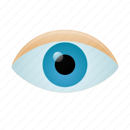 eye, find, look, search, see, view, vision icon