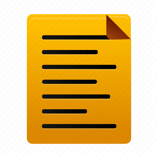 document, file, files, note, page, paper, text icon