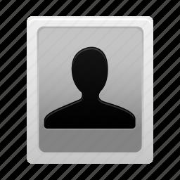 account, avatar, man, person, portrait, profile, user icon