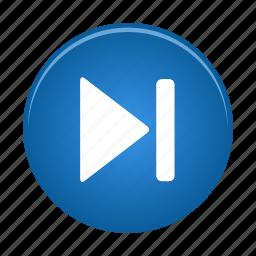 audio, forward, media, multimedia, player, skip, video icon