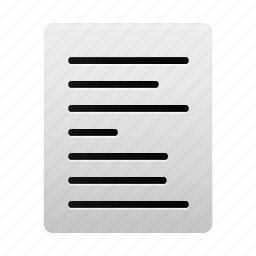 align, alignment, document, documents, file, left, text icon