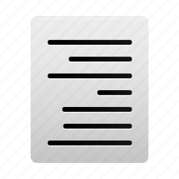 align, alignment, document, file, paper, right, text icon
