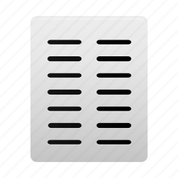 align, alignment, columns, document, file, page, text icon