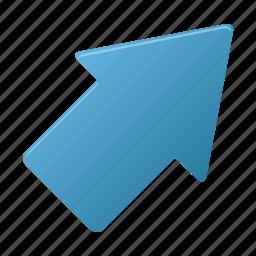 arrow, arrows, direction, upright icon