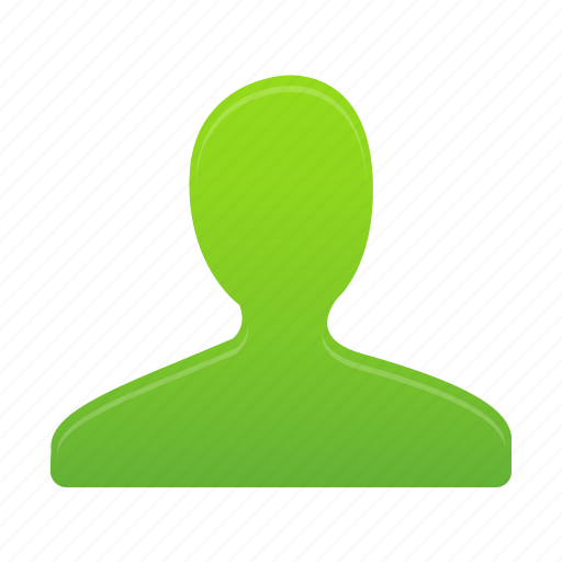 account, avatar, green, man, people, profile, user icon