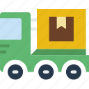 car, delivery, distance, travel, truck, vehicle icon