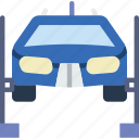 car, distance, lifter, travel, vehicle icon