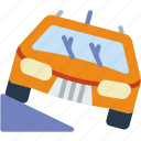 car, distance, offroad, travel, vehicle icon