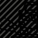 car, debris, distance, travel, vehicle icon