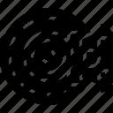 brake, car, disc, distance, travel, vehicle icon