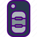 car, distance, key, regular, travel, vehicle icon