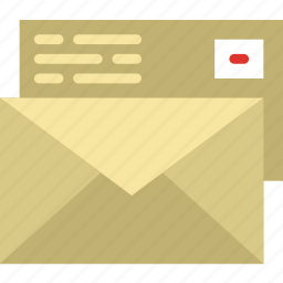 communication, contact, delivery, envelopes, mail, message icon
