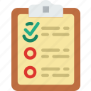 checklist, communication, contact, delivery, mail, message icon