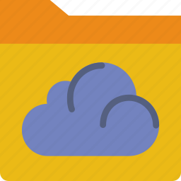 cloud, communication, contact, delivery, documents, mail, message icon