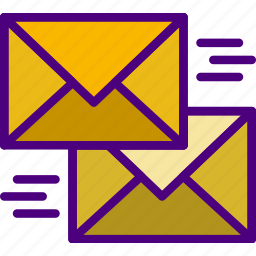 communication, contact, delivery, mail, message, send icon