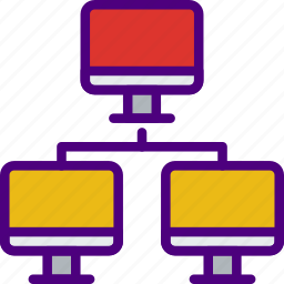 communication, connection, contact, delivery, lan, mail, message icon