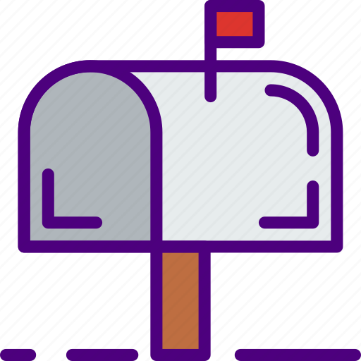 communication, contact, delivery, mail, mailbox, message icon