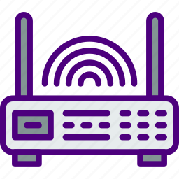 communication, connection, contact, delivery, mail, message, router icon