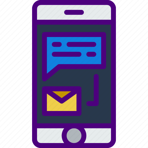 communication, contact, delivery, mail, message, phone icon