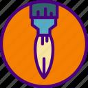 brush, design, draw, illustration, paint icon