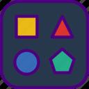 design, draw, illustration, paint, shape, tool icon