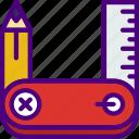 design, draw, illustration, paint, tools icon