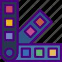 color, design, draw, illustration, paint, palettes icon