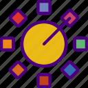 art, design, drawing, grid, illustration, make, tool icon