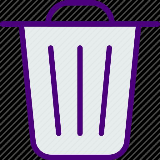 art, design, drawing, illustration, trash icon
