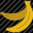 bananas, eat, food, fruit, kitchen, vegetable icon