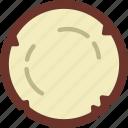 coconut, eat, food, fruit, kitchen, vegetable icon
