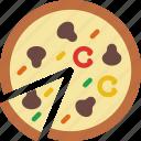 eat, food, fruit, kitchen, prosciutto icon