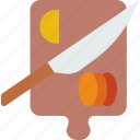 board, chopping, drink, eat, food, pizza icon