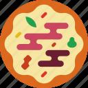 drink, eat, food, pizza, prosciutto icon