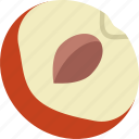 drink, eat, food, peach, pizza icon