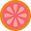 drink, eat, food, grapefruit, pizza icon