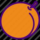 eat, food, fruit, kitchen, peach, vegetable icon