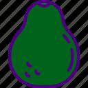 avocado, eat, food, fruit, kitchen, vegetable icon